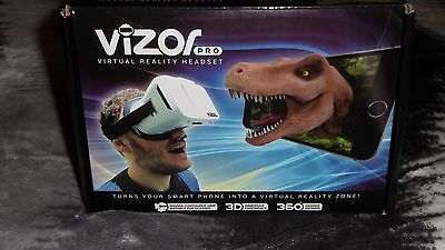 Vizor Pro VR Virtual Reality Headset For Smartphone -  iPhone/Android