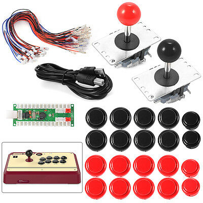 Game DIY Arcade USB Encoder Joystick Projects Support SANWA Parts AC608