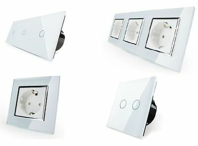Sockets Light Switch Blinds Switch Glass Touchscreen Toggle Switch Walker