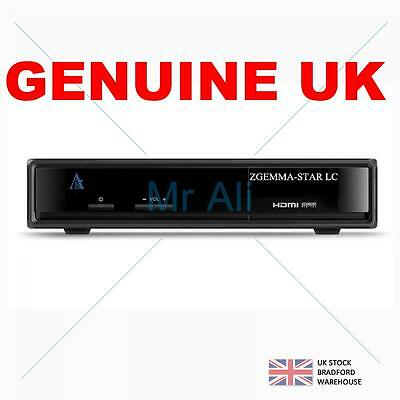 ZGEMMA LC Single FTA HD Receiver Linux Hybrid DVB-T2/C (CABLE) Tuner - LIMITED