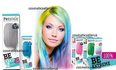 Be Extreme Semi Permanent  Hair Toner One product 3 Effect By Prestige