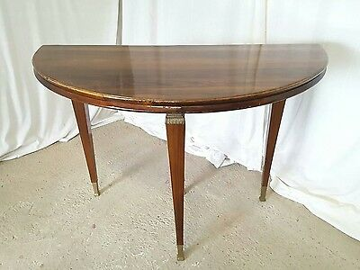 Italian Demilune Card / Console / Side Table