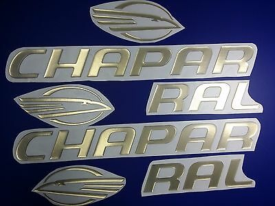 """chaparral boat emblem stickers 32"""" GOLD Epoxy Stickers Resistant to mech. shocks"""