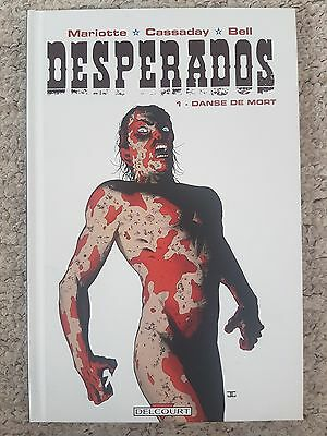 Desperados Volume 1 - Danse De Mort hardback graphic novel FRENCH LANGUAGE