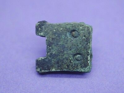 Medieval bronze buckle plate 15th century AD UK find