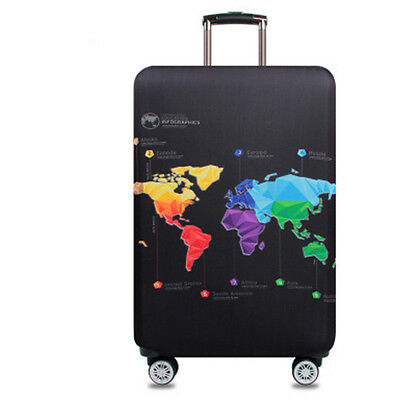 Elastic Travel Luggage Suitcase Cover Dust-proof Protector Protective Bag 20-32""