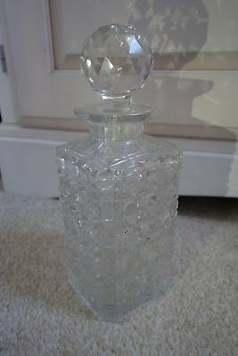 Glass Cut Decanter
