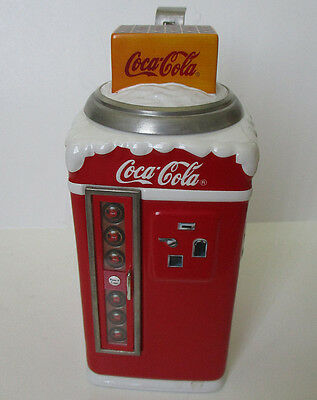 Coca Cola Holiday Vending Machine Stein 1999