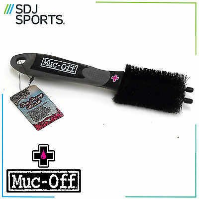 Muc Off Cleaning 2 Prong Brush Mountain Bike Road Mtb Bicycle Cleaner