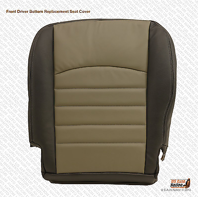 2009-2012 Dodge Ram 4500 Driver Bottom Replacement Synthetic Leather Seat Cover