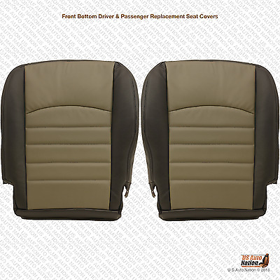2011 Dodge Ram Driver & Passenger Bottom Replacement Synthetic Leather Cover