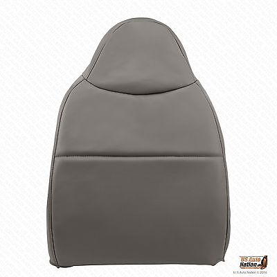 2008 Ford F250 F350 F450 F550 XL Driver Lean Back Synthetic Leather Cover Gray