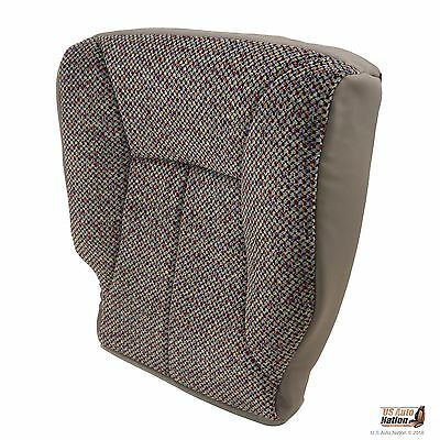 2002 Dodge Ram 1500 2500 3500 SLT Driver Bottom Mist Gray Cloth Seat Cover