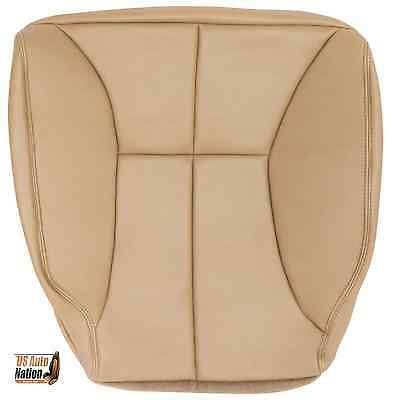 1998-02 Dodge Ram 1500 2500 3500 SLT PLUS Driver Bottom Leather Seat Cover TAN-