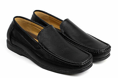 Mens Driving Slip On Style Casual Shoes Italian Loafers Boat Deck Moccasin Size