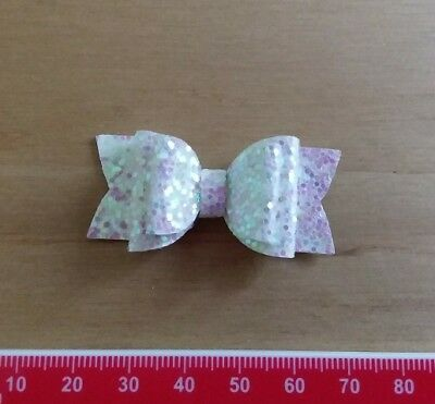 Emily Bow TINY DOUBLE Plastic Bow Template 4 Pieces - Hair Bow Making / Crafts