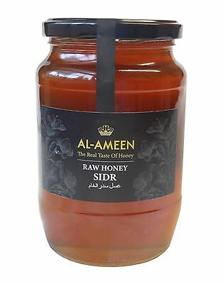 AL-AMEEN PURE RAW NATURAL SIDR HONEY 1kg - NOT PASTEURISED