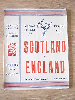 1960 *****pirate Programme***** Scotland V England