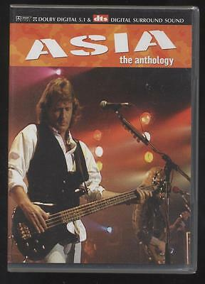 NEUF DVD ASIA THE ANTHOLOGY SOUS BLISTER ROCK PROGRESSIF Geoff Downes Steve Howe
