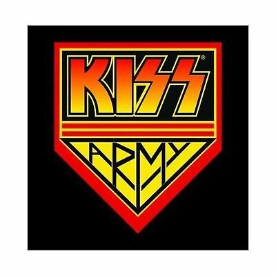 KISS Army Greeting Birthday Card Any Occasion Blank Album Cover Fan Official