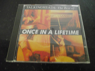 Mint- Talking Heads Once In A Lifetime Talkingheads The Best Of Uk 1992 Cd