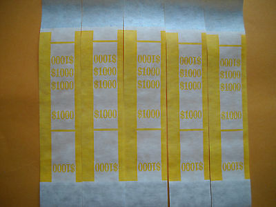 25 currency straps bands USA $10 bills