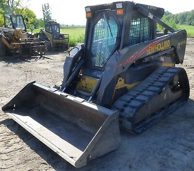 2006 New Holland LT185B Track SkidSteer Loader 78HP Bucket 2 Speed Cab/AC/Heat