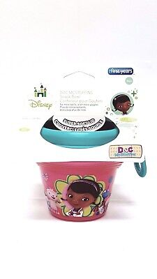 - NEW - DOC MCSTUFFINS - Snack Bowl - The First Years - 8oz -