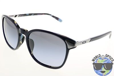 Oakley Women's Sunglasses OO2047-05 RINGER Black Grey Gradient/Blue Mosaic