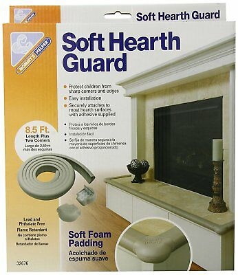 - NEW - Soft Hearth Guard - Furniture Corner Safety Bumpers Edge Protection