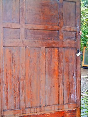 Tiger Oak wood panel  Wainscot  Architectural  Antique  raised   large panel #2