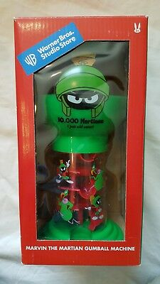 Marvin the Martian Vintage Gumball Machine 1999 *NEVER USED*