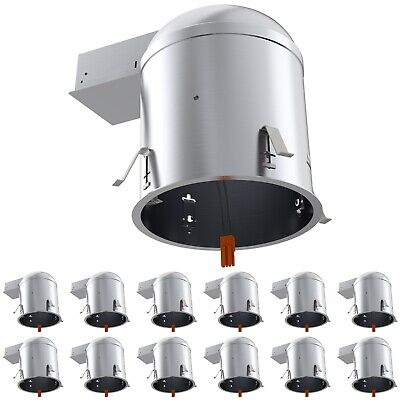 "Sunco  12pack 6"" inch REMODEL LED Can Air Tight IC Housing LED Recessed Lighting"