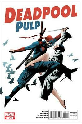 Deadpool Pulp (2010)   #1 to 4 Complete  NM- to NM/M