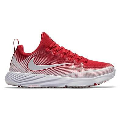Nike Vapor Speed Trainer Turf Shoes Cleats Sz 11.5 Destroyer Nubby White Red