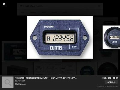 Curtis Hour meters  ANY HOURS PROGRAMMED Catepillar ,komatsu