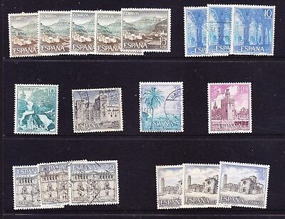 Spain 1966 Tourism Issues Used