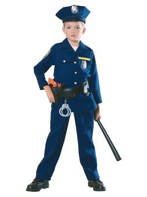 Police Officer Child Costume, 882114, Rubies