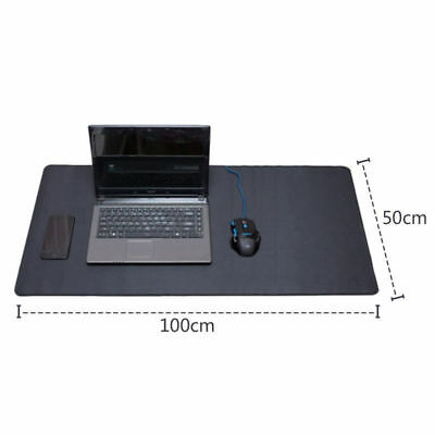Professional Large Computer Non-slip Gaming Mouse Pad 3mm Thick Stitched Edges