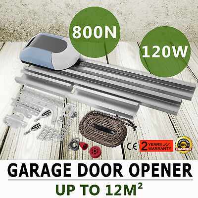 Auto Garage Door Opener 800N Operator AC 220V Force 2 Remote Control Force Drive