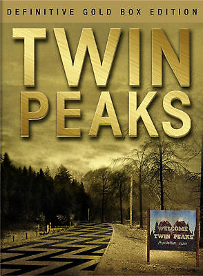 Twin Peaks - The Complete Series Definitive Gold Box Edition ( 10 DVD, 2017) New