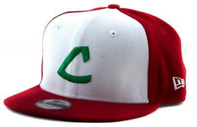Youth Cleveland Indians New Era MLB Team 9Fifty Hat Genuine Baseball Cap