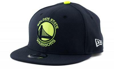 Youth Golden State Warriors New Era NBA Team 9Fifty Hat Baseball Cap In Navy