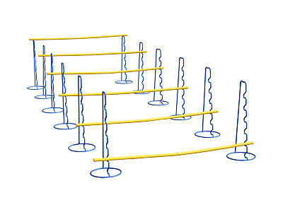 Six large agility hurdles with six or nine heights up to 48 cm or 63 cm - hurdle