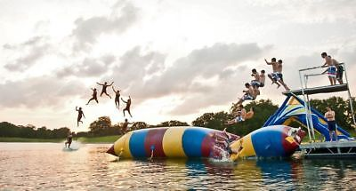 Water bounce Inflatable Water game Water trampoline Sled Slide NEW
