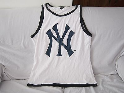 Mlb New York Yankees Cotton Singlet Size Medium