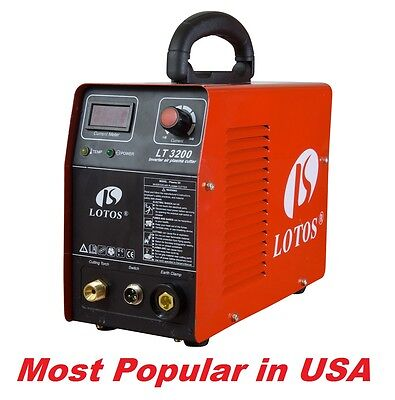 Lotos LT3200 Plasma Cutter 32a 240V Inverter Clean cut to 8mm demo stock