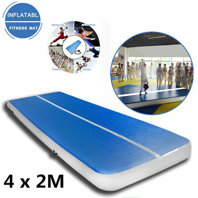 4*2m Air Tumbling Track Gymnastics Cheerleading Inflatable Mat Inflatable Gym
