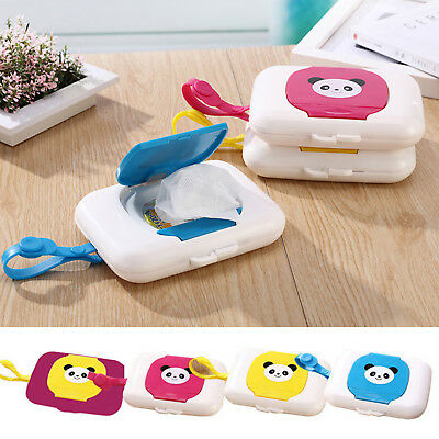 New Baby Travel Wipe Case Child Wet Wipes Box Changing Dispenser Storage Holder