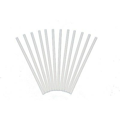 Plastic White Dowel Rods for Tiered Cake Construction 12Inch X 1/4by Poly-Dow...